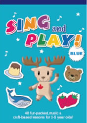 SING & PLAY! Blue (Craft Book)